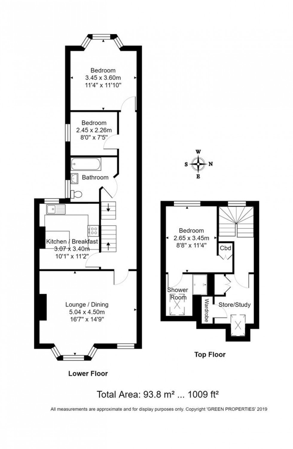 Floorplan for Glendale Road, Hove