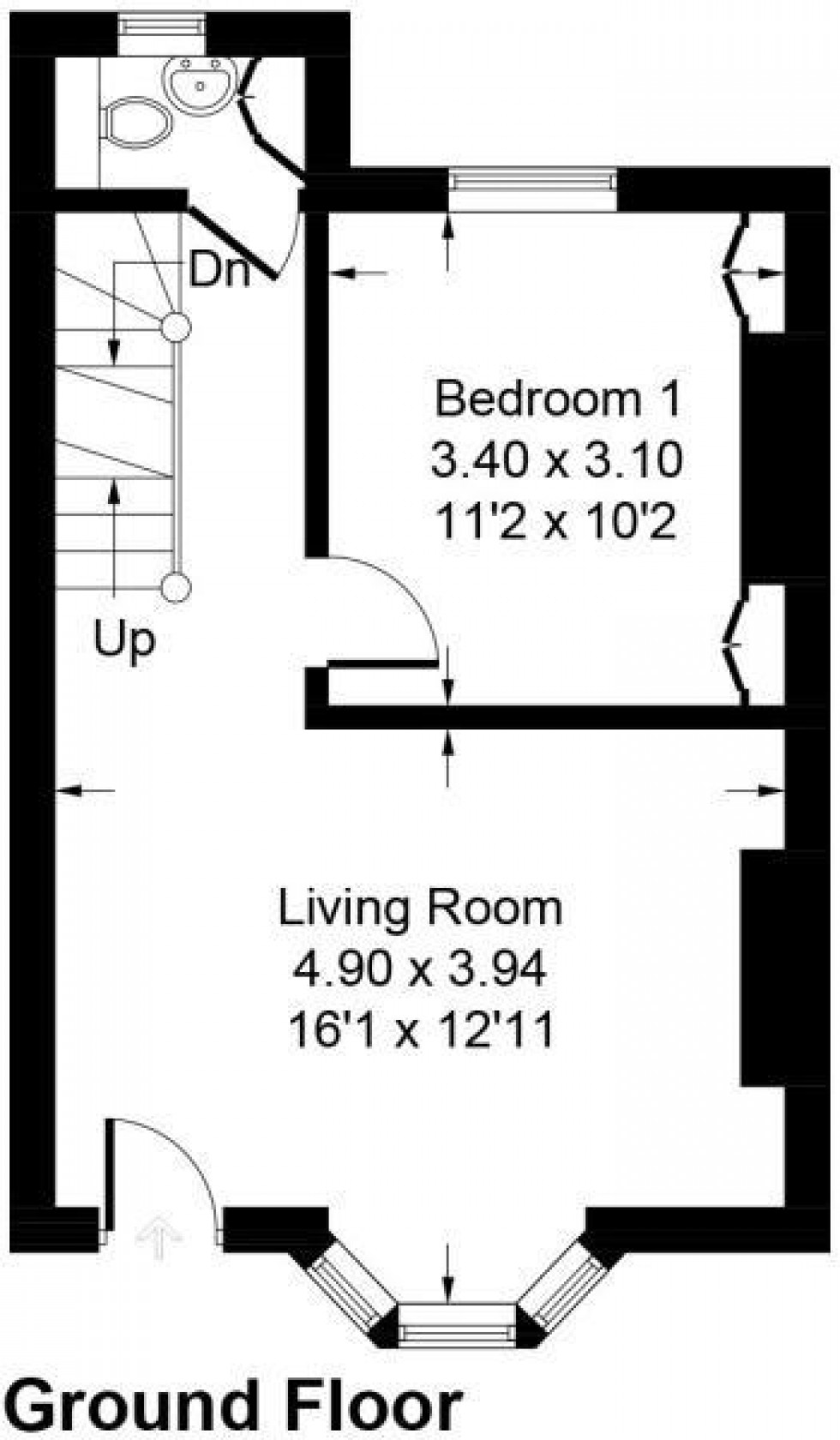 Floorplan for Howard Place, Brighton
