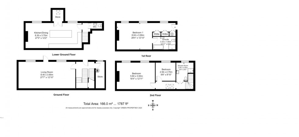 Floorplan for St. James's Place, Brighton