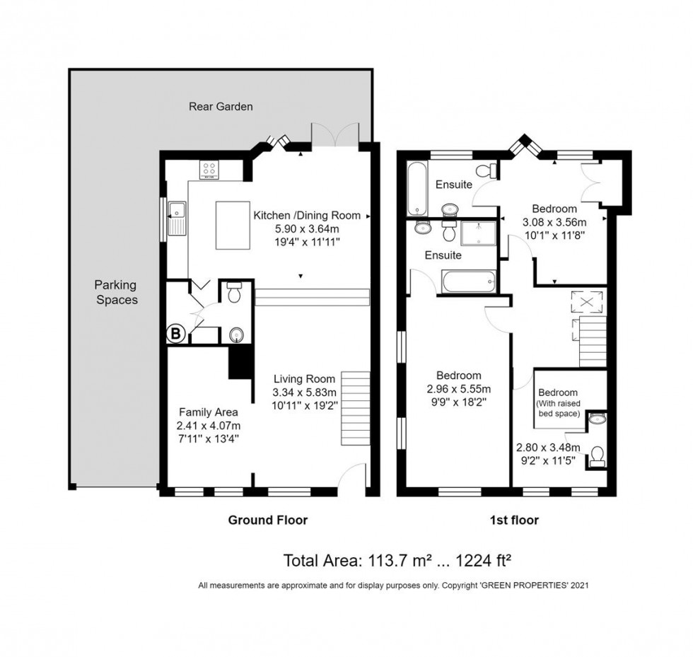 Floorplan for Holland Mews, Hove